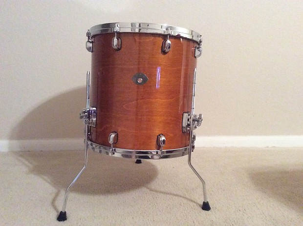 Tama starclassic performer 2003 honey amber gold lacquer for 16x16 floor tom
