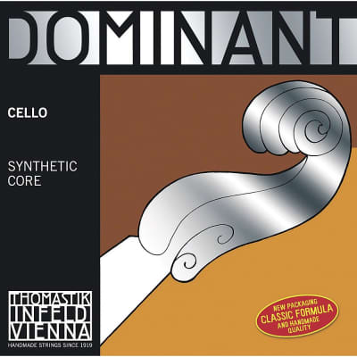 Thomastik-Infeld 144 1/2 Dominant Chrome Wound Synthetic Core 1/2 Cello String - G (Medium)