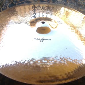 "Paiste 20"" Twenty Custom Full Crash Cymbal"