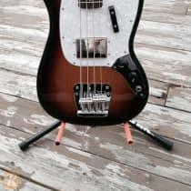 Fender Pawn Shop Mustang Bass 2010s 3 Tone Sunburst image