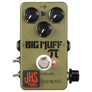 JHS Green Russian Big Muff Reissue with Moscow Mod