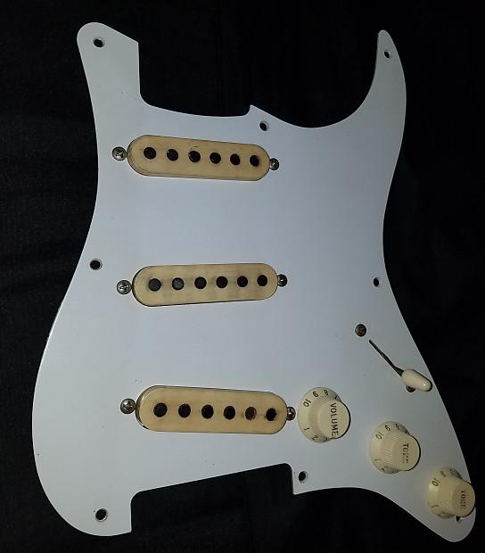 1956 Original Vintage Fender Stratocaster Pickups Set pre-CBS | Reverb