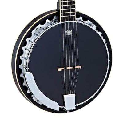 Ortega OBJ3506-SBK  - Banjo 6 cordes for sale