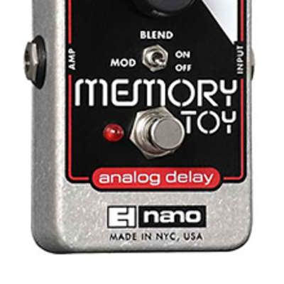 Electro Harmonix Nano Memory Toy Guitar Pedal for sale
