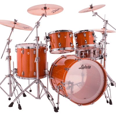 """Ludwig Classic Maple Exotic Mod Outfit 8x10 / 9x12 / 16x16 / 18x22"""" Drum Set"""