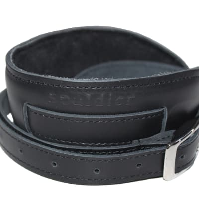 Souldier Vintage Black Leather Saddle Strap