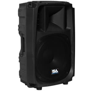"Seismic Audio L_Wave-15 Active 1x15"" 2-Way Powered 600w Speaker"