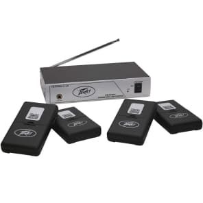 Peavey Assisted Listening System w/ 4 Receivers/Earbuds - 72.1 MHz
