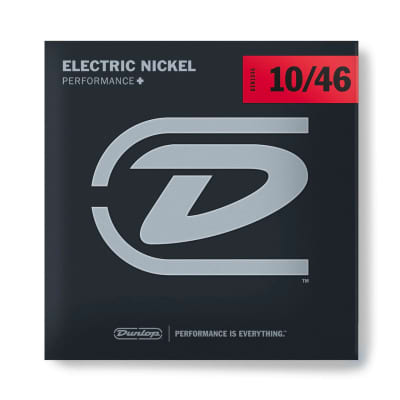 Dunlop DEN1046 Nickel Electric Guitar Strings Set 10-46