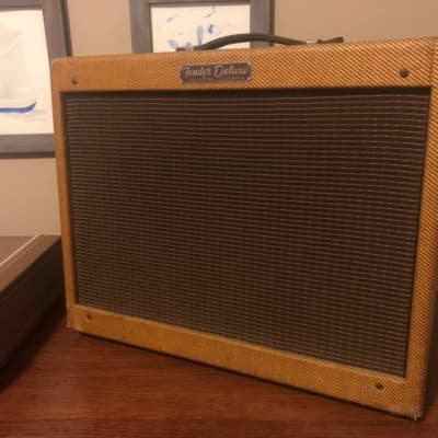 """Fender Deluxe """"Tweed Narrow Panel"""" [1955-1960]"""