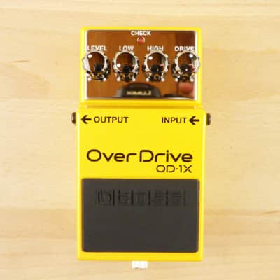 Boss OD-1X OverDrive - Amazing Special Edition Over Drive Guitar Effects Pedal - Minty W/ Box!