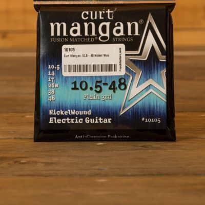 Curt Mangan 10.5-48 Nickel Wound
