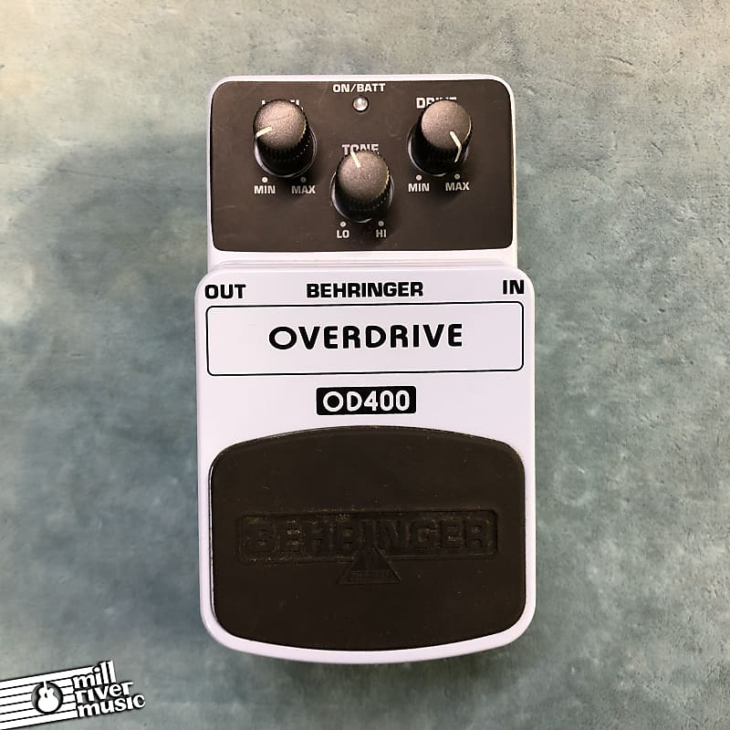 Behringer OD400 Overdrive Effects Pedal