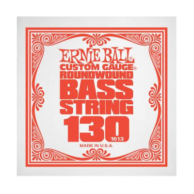Ernie Ball 1613 130 Roundwound Bass Single String