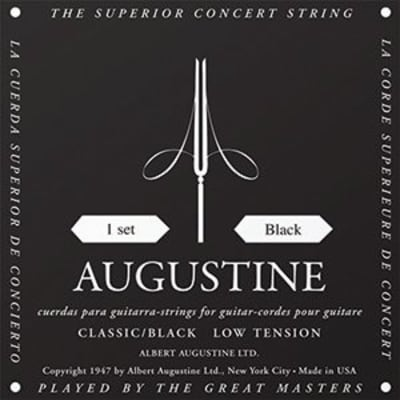 Augustine Classical Black Set - Low Tension