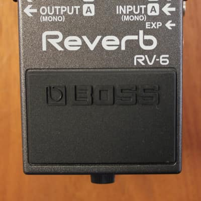 Boss RV-6 Digital Delay/Reverb Guitar Effects Pedal for sale