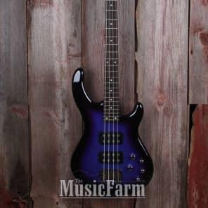 Dean E3 EPMB Edge 3 4-String Bass Purple Metallic Burst
