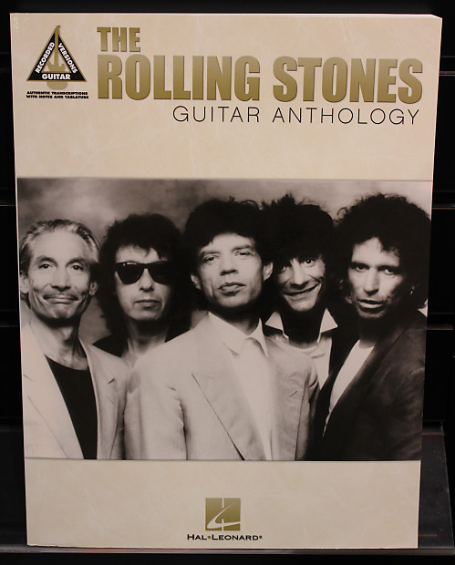 the rolling stones guitar anthology guitar recorded versions reverb. Black Bedroom Furniture Sets. Home Design Ideas