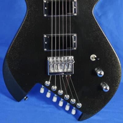 Gimenez Sinner Metallic Black Electric Guitar EMG Schaller w/OHSC *First Run* for sale