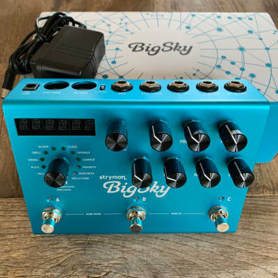 Strymon Big Sky Reverb 2019 Blue