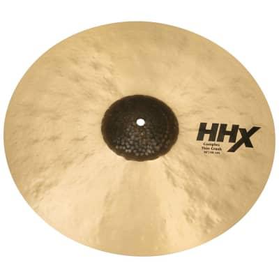"Sabian 11806XCN 18"" HHX Complex Thin Crash Cymbal"