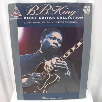 BB B.B. King Blues Guitar Collection 1958 to 1967 Sheet Music Song Book Guitar Tab Tablature