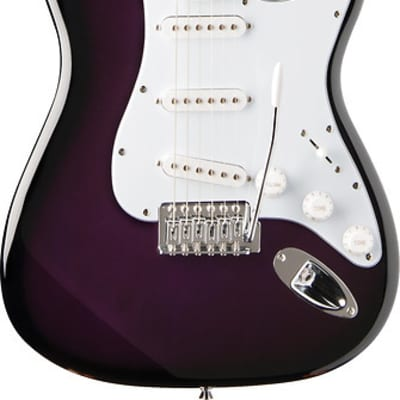 Oscar Schmidt by Washburn Double Cutaway Electric Guitar, Purple, OS-300 PS for sale