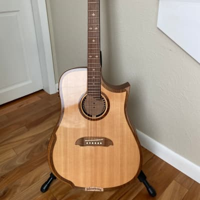 Riversong Tradition 2 Performer 2010's Gloss Lutz Spruce Top, Satin Walnut Back & Sides for sale
