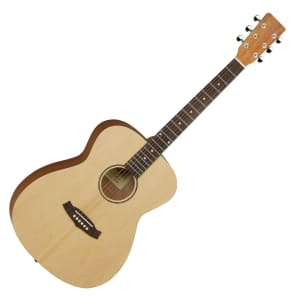 Tanglewood TWR-O Roadster Spruce/Mahogany Orchestra Natural Satin