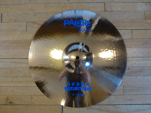 paiste 2000 sound reflections 16 crash cymbal reverb. Black Bedroom Furniture Sets. Home Design Ideas