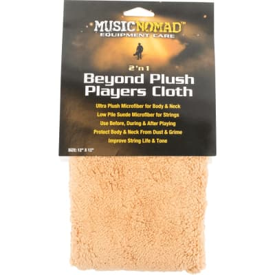 Music Nomad - 2 'n 1 Beyond Plush Players Cloth MN241