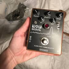 Spaceman Effects Modded WOW Signal Fuzz 2012 Copper Edition