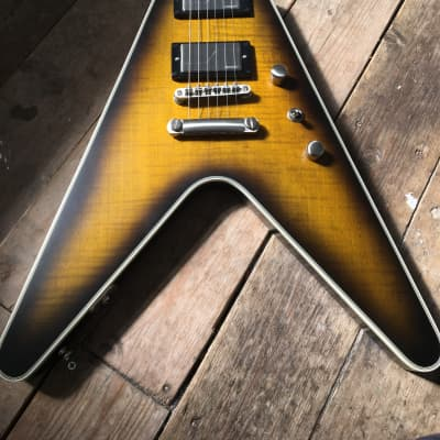 Epiphone Flying V Prophecy 2020 Yellow Tiger