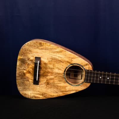 "Romero Creations TTMG Tiny Tenor -Spalted Mango- ""Sirocco"" -Dani Joy Music"