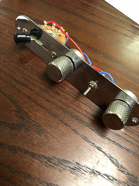Fender Nashville Telecaster Wiring Harness with hardware on