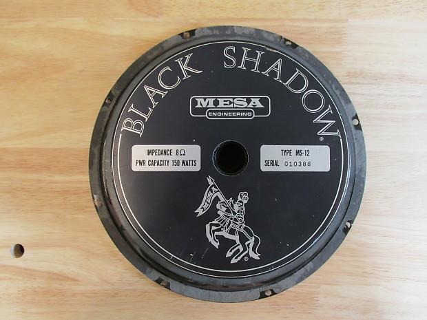 Mesa Boogie Black Shadow Ms 12 Eminence 150 Watt 12