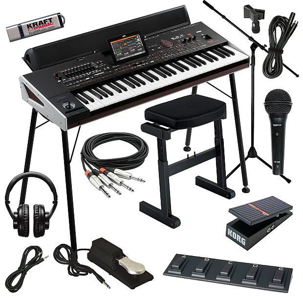 korg pa4x 61 arranger workstation keyboard complete home reverb. Black Bedroom Furniture Sets. Home Design Ideas