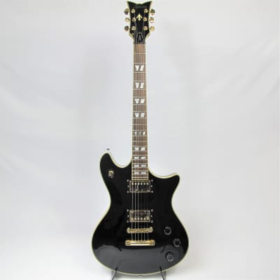 Schecter Tempest Custom Diamond Series Guitar Gloss Black and Gold Hardware for sale