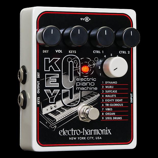 electro harmonix key9 electric piano machine guitar pedal reverb. Black Bedroom Furniture Sets. Home Design Ideas
