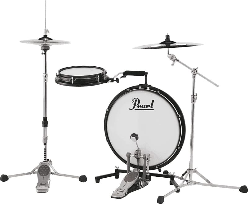 Pearl Compact Traveler Batterie de voyage sans cymbales ni stands cymbales