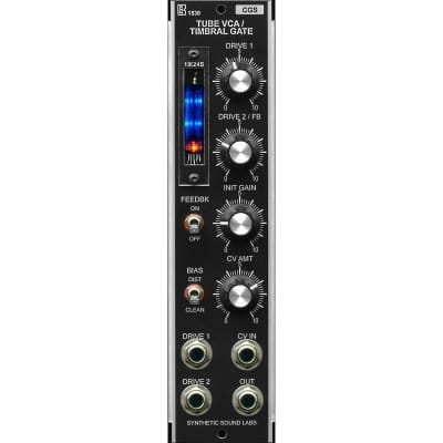 Synthetic Sound Labs - Tube VCA / Timbral Gate – Model 1530
