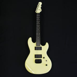 G&L Tribute Series Superhawk Jerry Cantrell Signature Guitar Ivory w/ Rosewood Fretboard