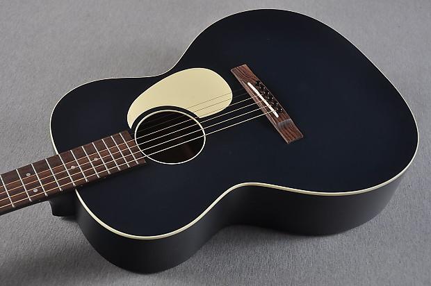 2016 Martin Custom Shop 00 17 Dark Navy Blue Acoustic Electric SOLD