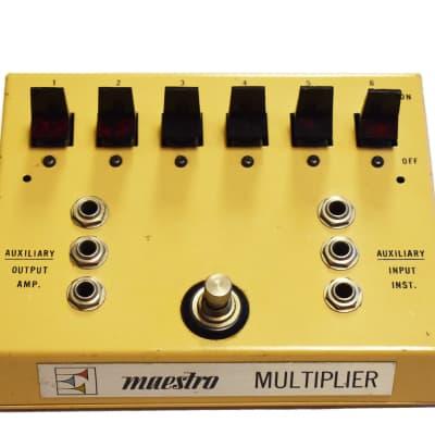 Maestro Multiplier MM-1 Vintage 1970's Effect Looper   Switcher for sale