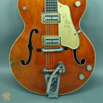 Gretsch 6120 Chet Atkins 1958 Orange image