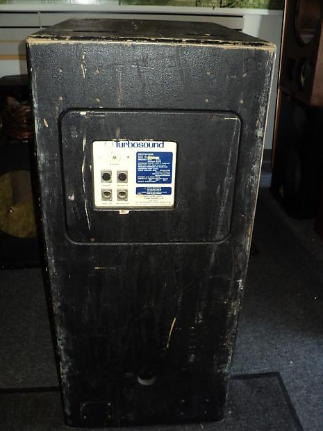 Vintage Turbosound Tms 4 3 Way Bi Amped Line Array Pa Reverb