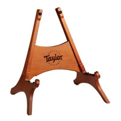 Taylor Beechwood Folding Guitar Stand - Brown