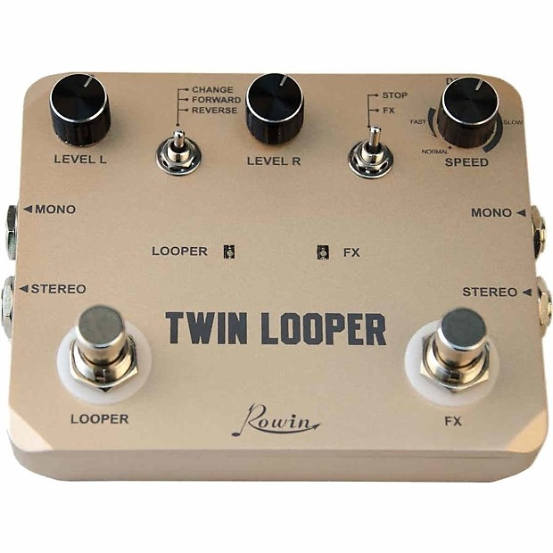 rowin ltl 02 twin looper and recording guitar effect pedal reverb. Black Bedroom Furniture Sets. Home Design Ideas