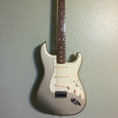 Fender Robert Cray Stratocaster 2009 Inca Silver for sale