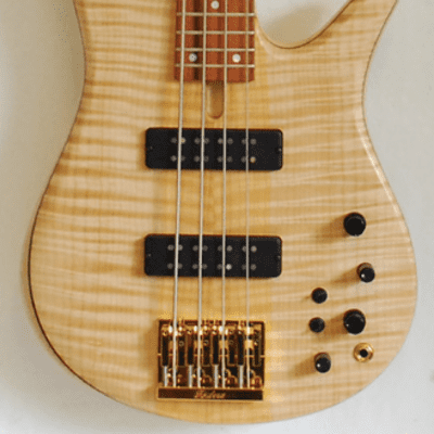 Fodera Monarch Standard Flame Maple #M4S65